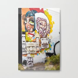 Girlz Metal Print