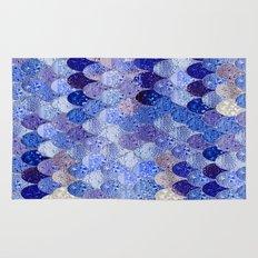 SUMMER MERMAID ROYAL BLUE Rug