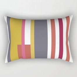 Autumn Rainbow Rectangular Pillow