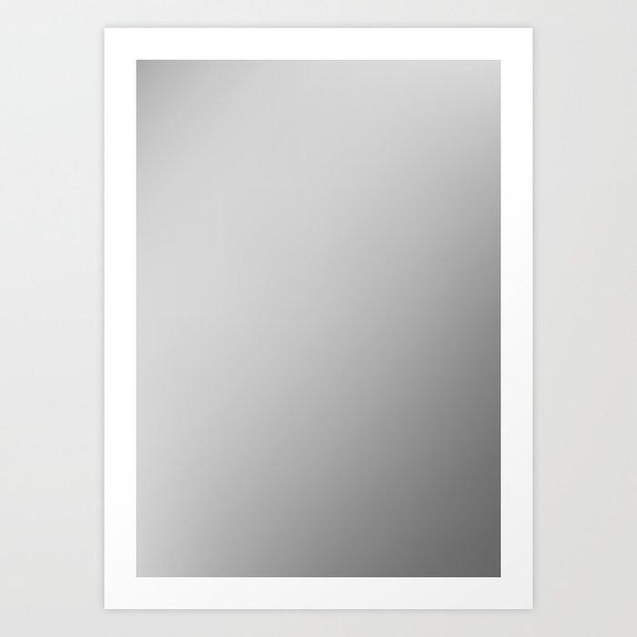 STEEL / Plain Soft Mood Color Blends / iPhone Case Art Print