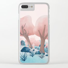 Winter landscapes 1 Clear iPhone Case