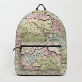 Map of the Chinese Empire (1847) Backpack