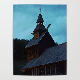 Viking Architecture Poster