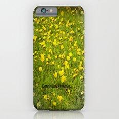 Dandelion Summer. Slim Case iPhone 6s