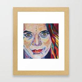 Fille Du Feu Framed Art Print