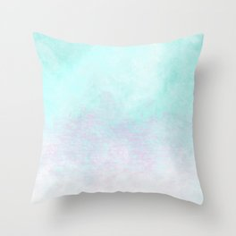 Candy Coated Contacts Throw Pillow