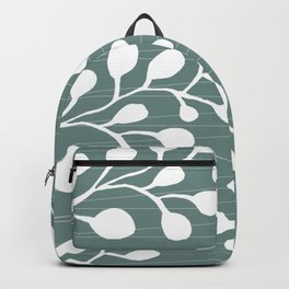Greenery Leaves on Jade Backpack