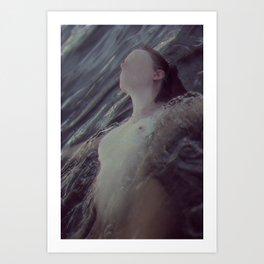 Water graves 2 Art Print