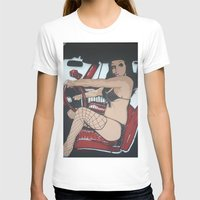 pin up T-shirts featuring Pin Up by Classic Mixup Art
