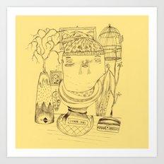 Signor James' Mistery Art Print