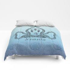 Paisley Yoga Octopus Namaste Comforters