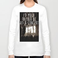 concert Long Sleeve T-shirts featuring Concert life by Parker Hoge
