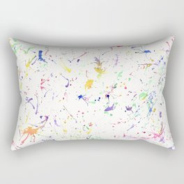 Akita in a spectrum of colour Rectangular Pillow