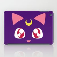 luna iPad Cases featuring Luna by discojellyfish