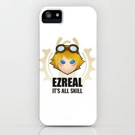 Ezreal w/ quote iPhone Case