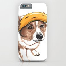 Corgi and banana Slim Case iPhone 6