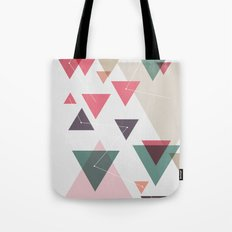 Triângulos ligados Tote Bag