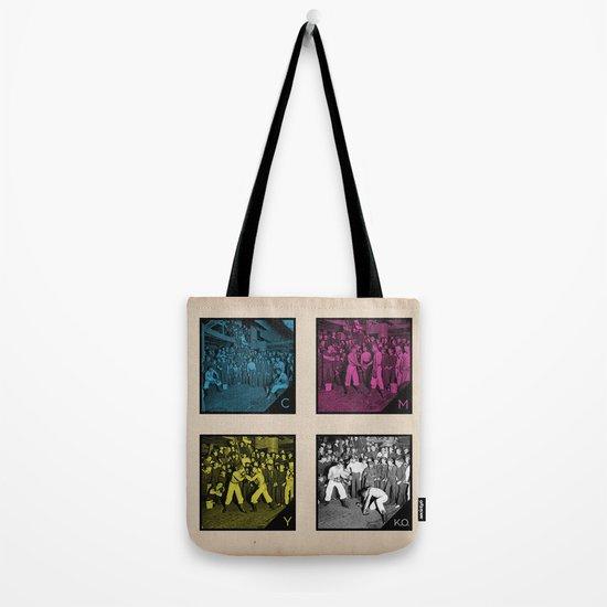 CMYK.O. Tote Bag