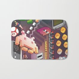 Lost in videogames Bath Mat