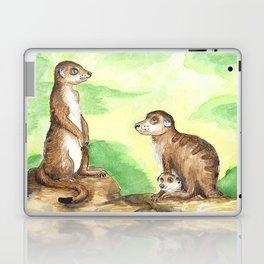 Meerkat Parents Laptop & iPad Skin