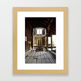Exploring the Longfellow Mine of the Gold Rush - A Series, No. 4 of 9 Framed Art Print