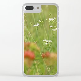 Do Not Mow! Clear iPhone Case