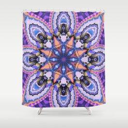 Exotic fantasy flower Shower Curtain
