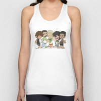 1d Tank Tops featuring Sleepy 1D by Ashley R. Guillory