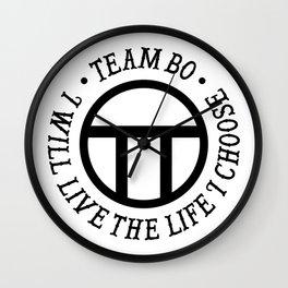 Team Bo Wall Clock