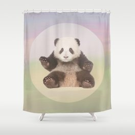 Save the Giant Panda - Endangered Species 5 Shower Curtain