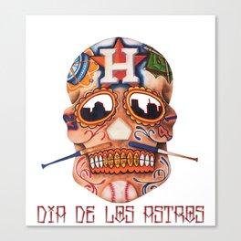 Dia De Los Astros Canvas Print