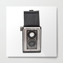 Spartus Full View Camera Metal Print