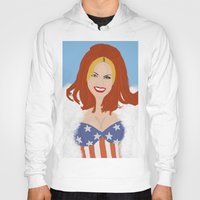 ginger Hoodies featuring Ginger. by A.S.M Designs