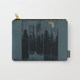 A Fox in the Wild Night... Carry-All Pouch