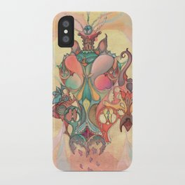 The Fountain of Originality iPhone Case