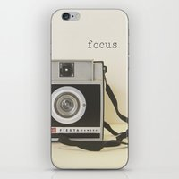 focus iPhone & iPod Skins featuring Focus by ShadeTree Photography