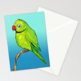 Cute Indian ring neck Stationery Cards