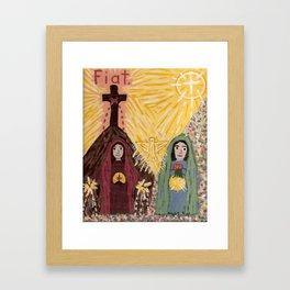 Visitation Framed Art Print