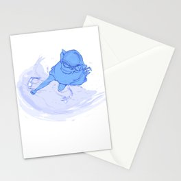 Omni in the water Stationery Cards