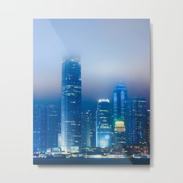Hong Kong Fog Metal Print