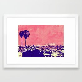 LA 001 Framed Art Print