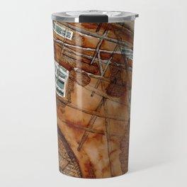 Scaffolding Sketch Travel Mug