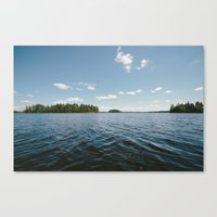 swedish Canvas Prints featuring Swedish Lake by Andreas Gillström