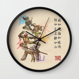 TMNT Furinkazan Wall Clock