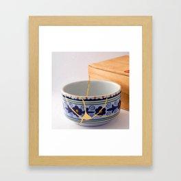 Kintsuqi Bowl #1 Framed Art Print