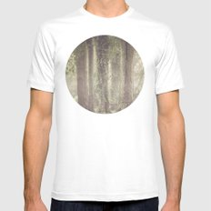 Enchanted Mens Fitted Tee MEDIUM White