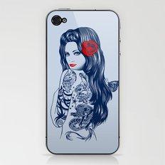 Tattoo Lolita iPhone & iPod Skin