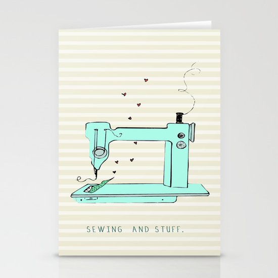sew and stuff... Stationery Cards