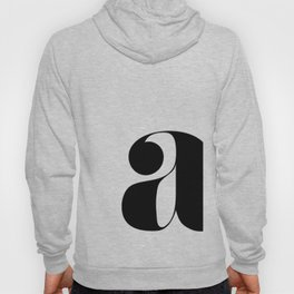 """letter """"a"""" Hoody"""