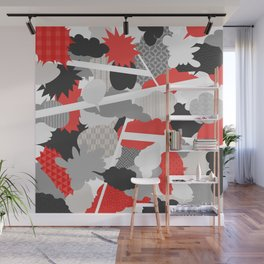 Japanese Patterns 15 Wall Mural